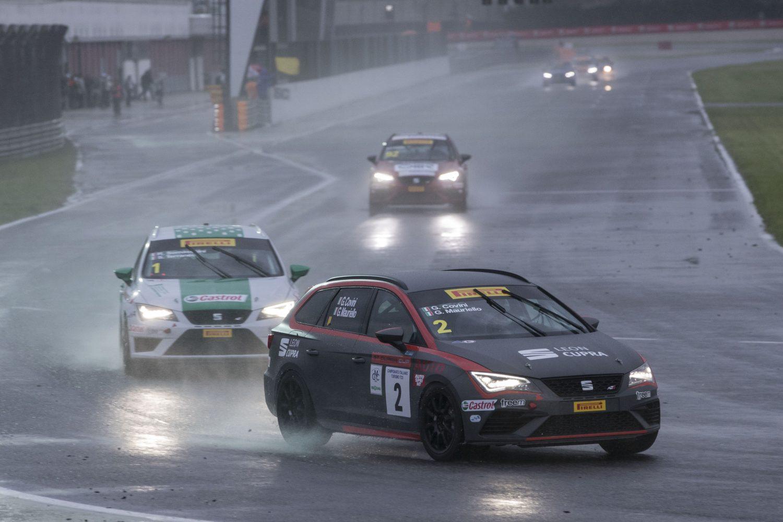 SEAT ST Cupra Cup, emozioni ad Adria sotto al diluvio