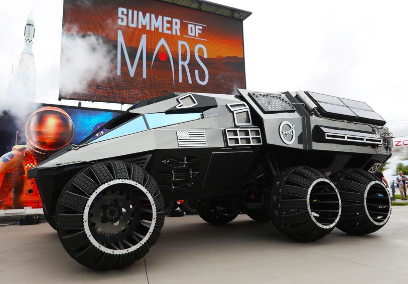 Una concept per Marte