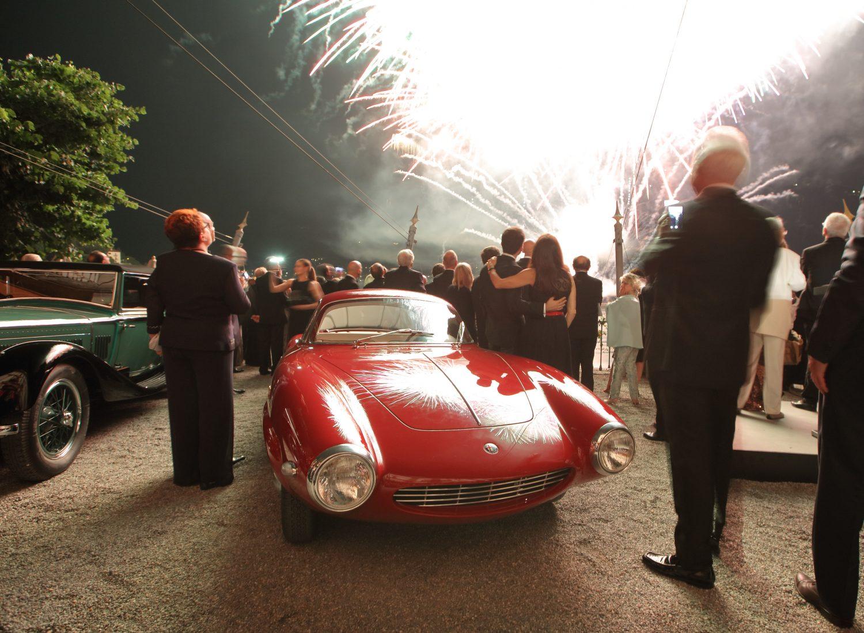 Unanimità per la Giulietta SS Prototipo a Villa d'Este