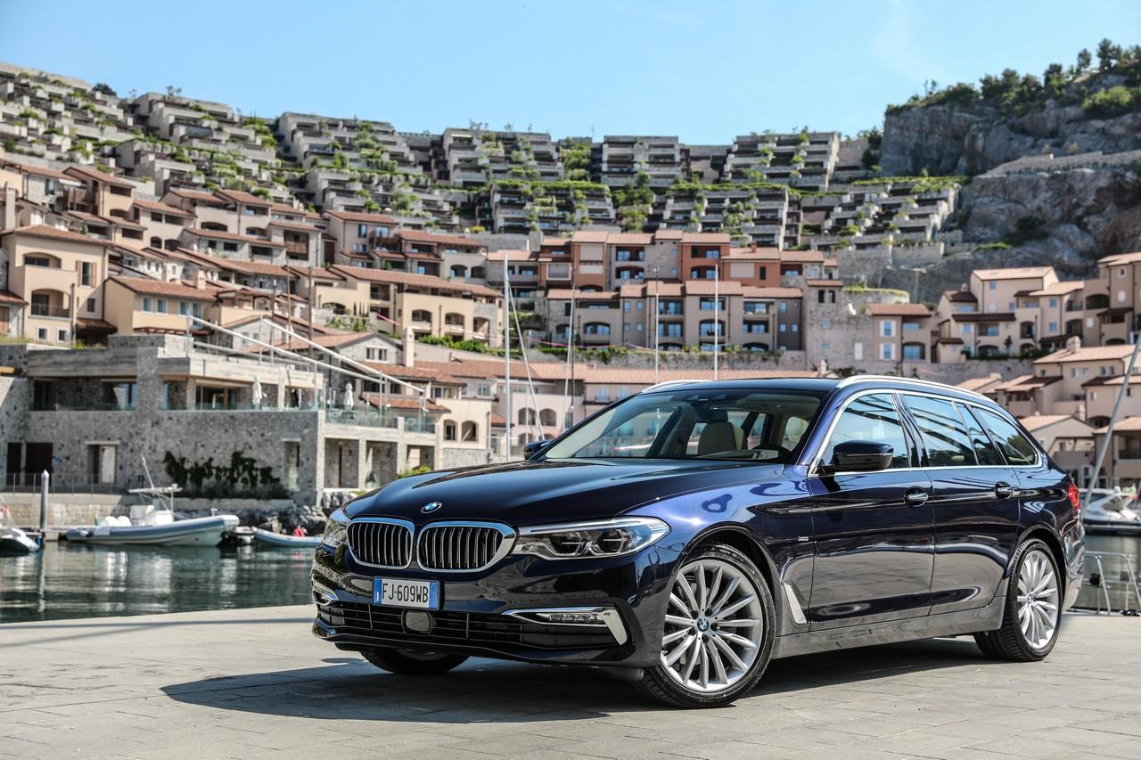 BMW Serie 5 Touring: tecnologicamente avanzata