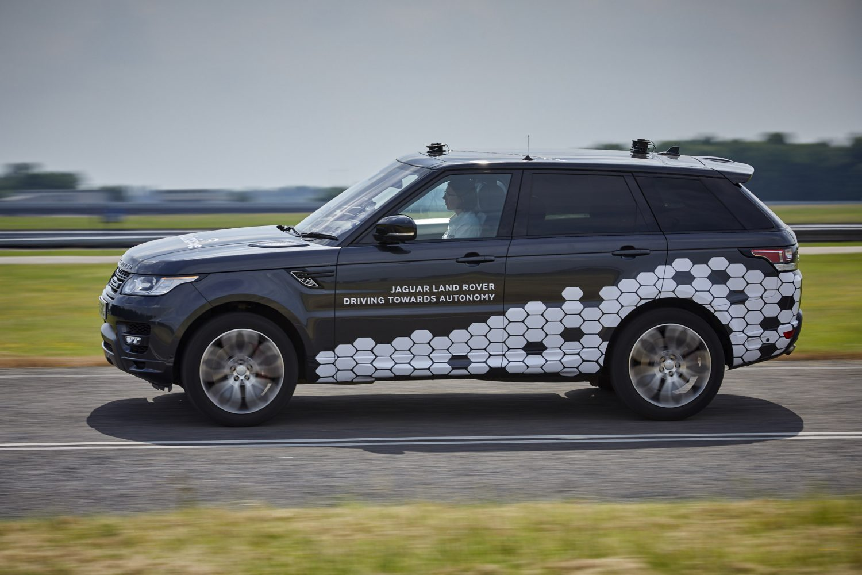JLR guida autonoma