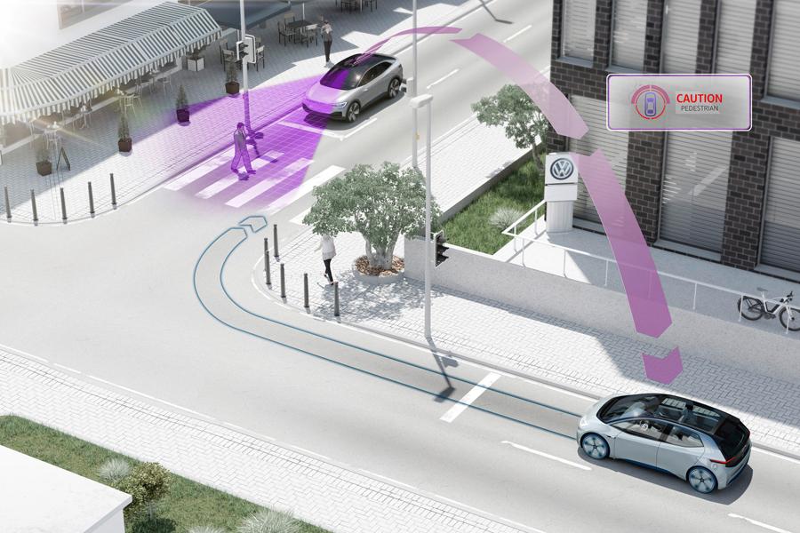 Dal 2019 i veicoli Volkswagen comunicheranno tra loro (e con gli altri)
