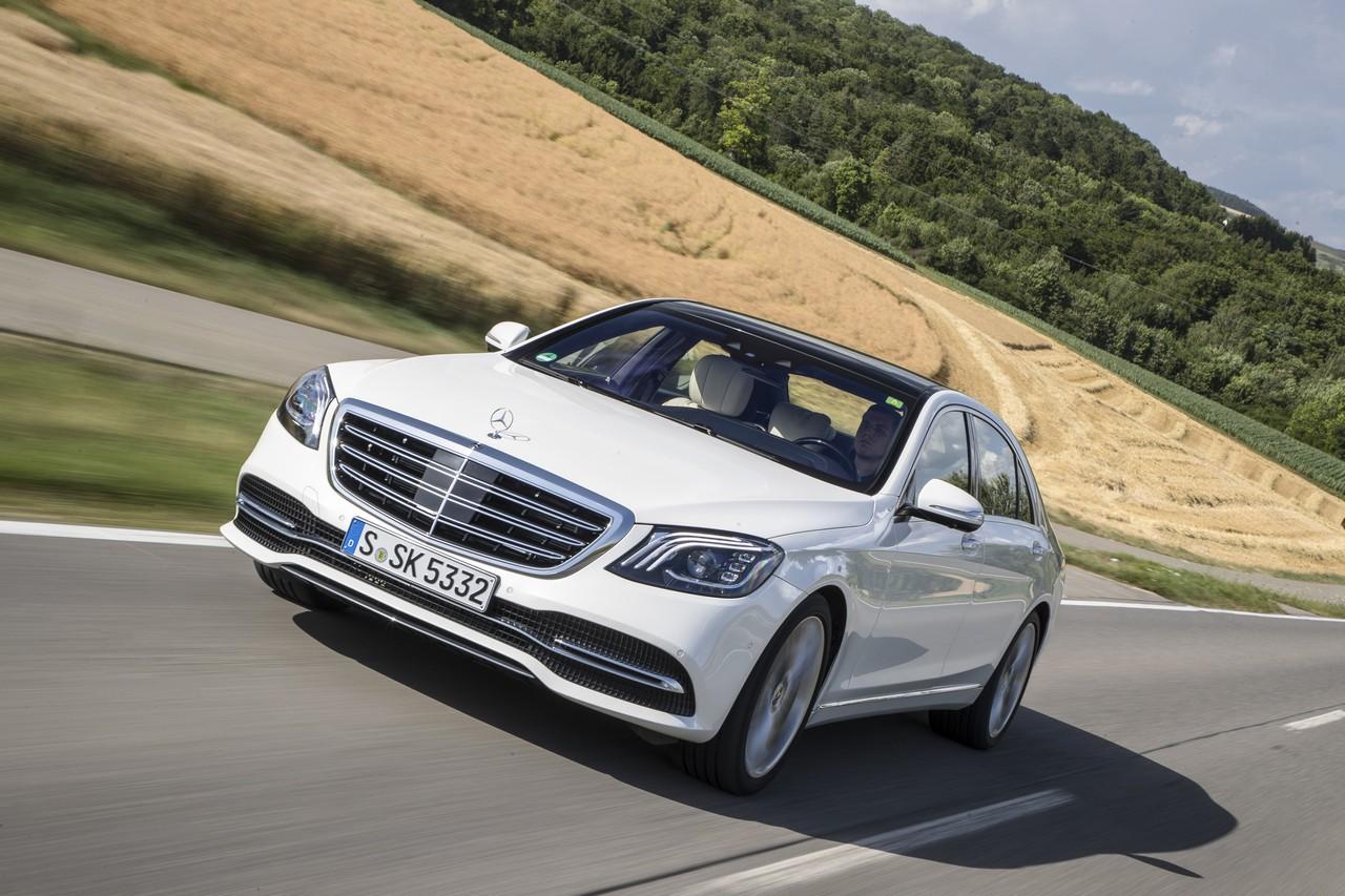 Mercedes Classe S MY17: sempre un passo avanti
