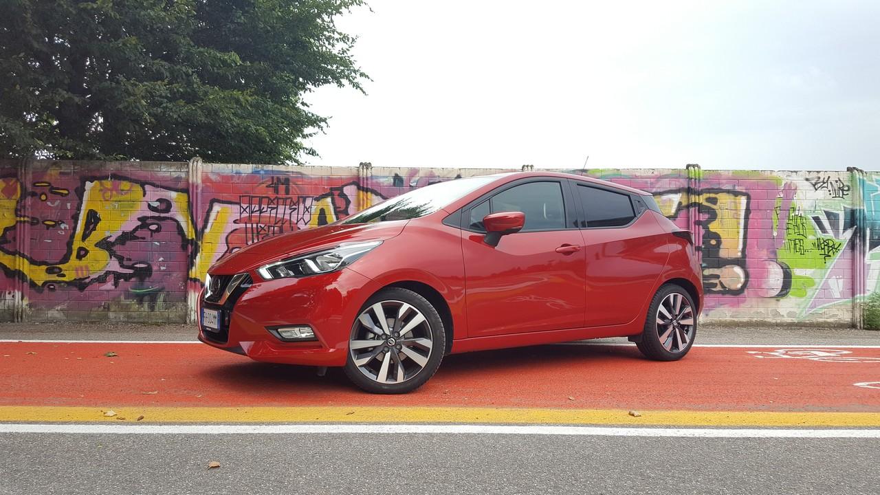"Nissan Micra 0.9 IG-T 90 CV Tekna: rivoluzione al ""peperoncino"""