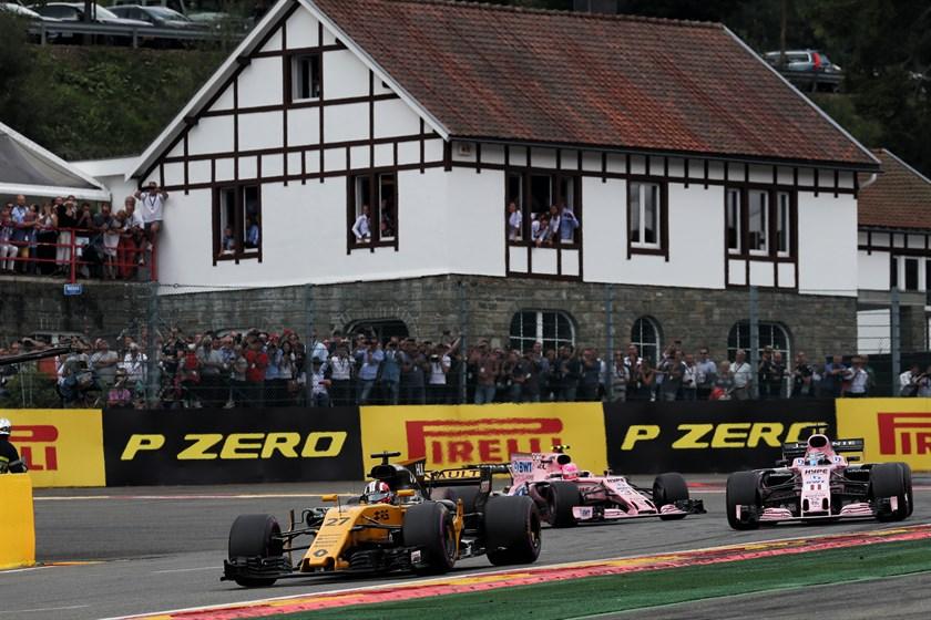 Top Six per il Team Renault Sport F1 nel GP del Belgio