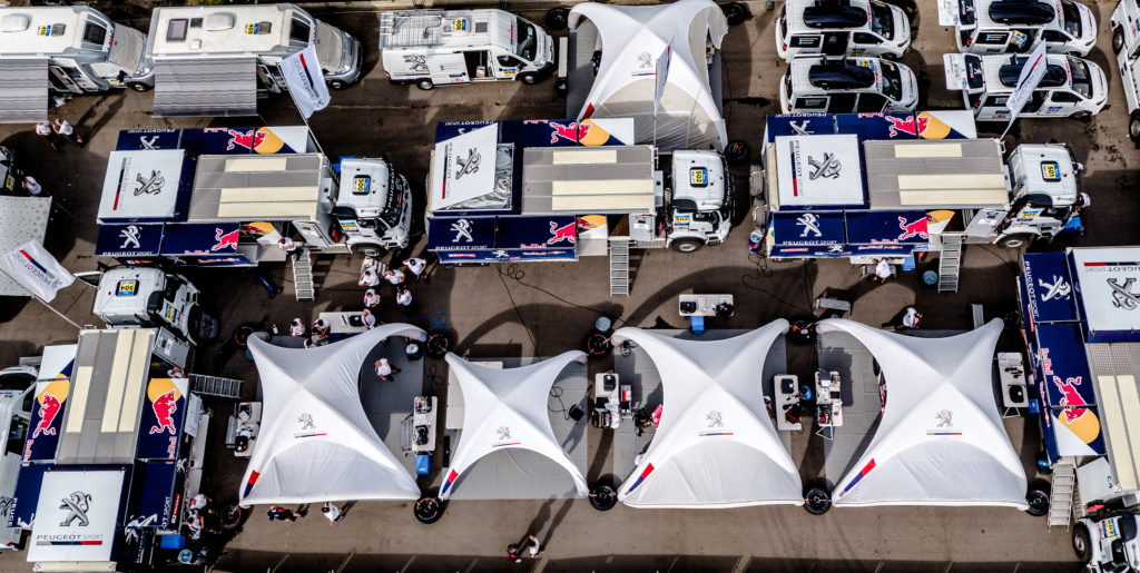 Peugeot Sport/Before Start/Moscow/photo Marian Chytka/MCH