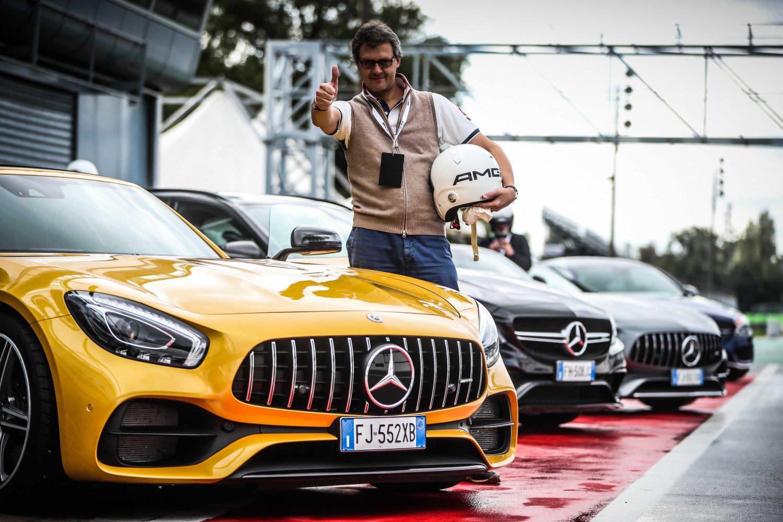 Mercedes AMG: festeggia a Monza i 50 anni ad alta velocità!