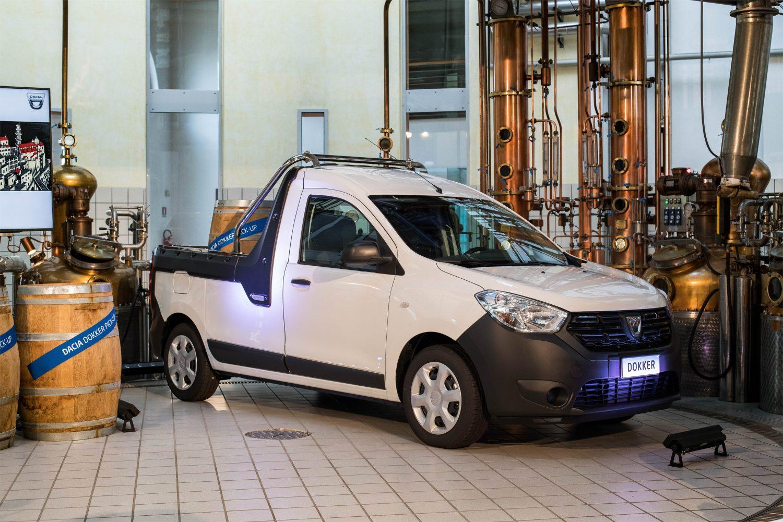 Dacia Dokker Pick-Up: alla carica