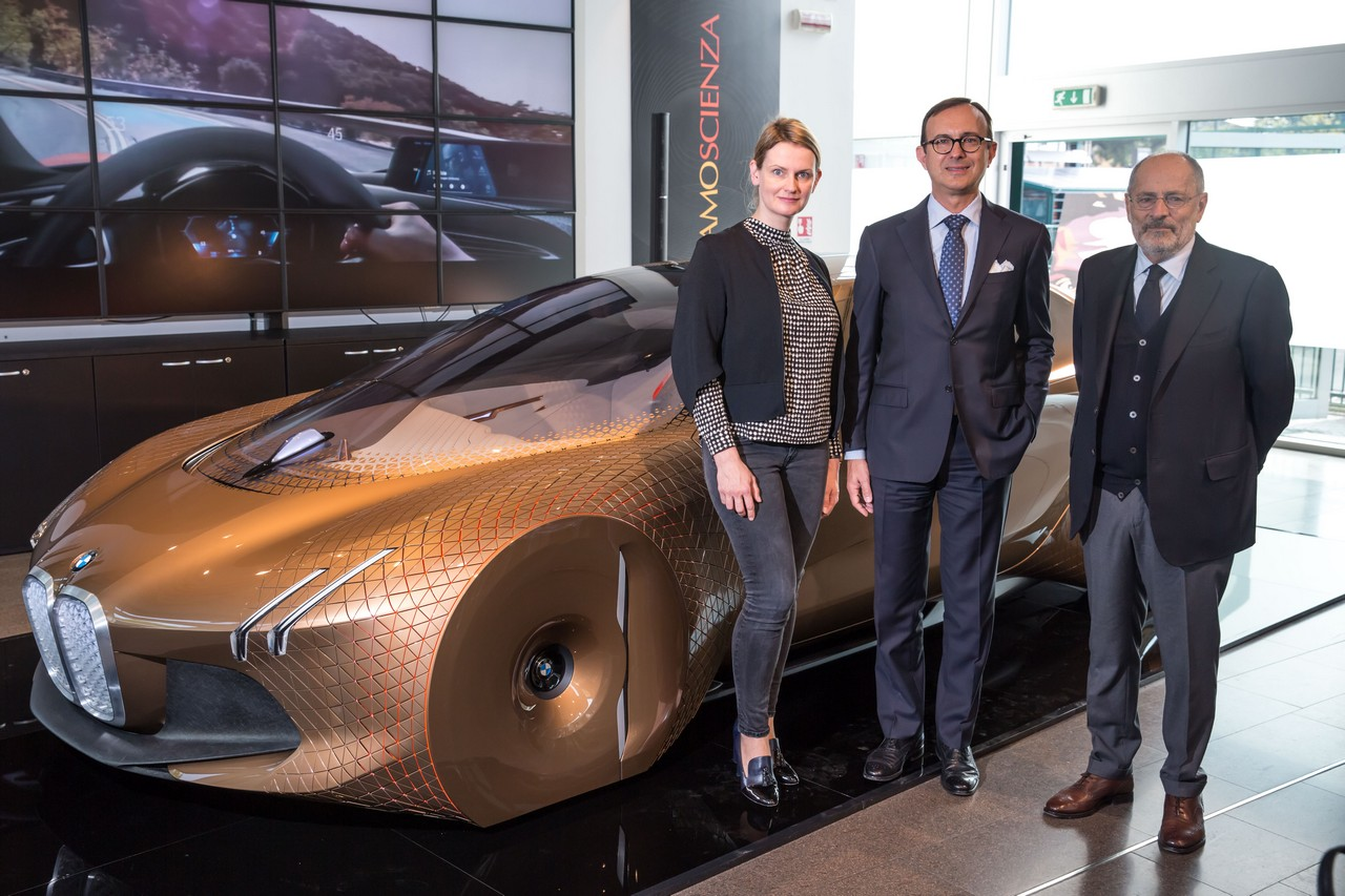 BMW Vision Next 100 a BergamoScienza 2017