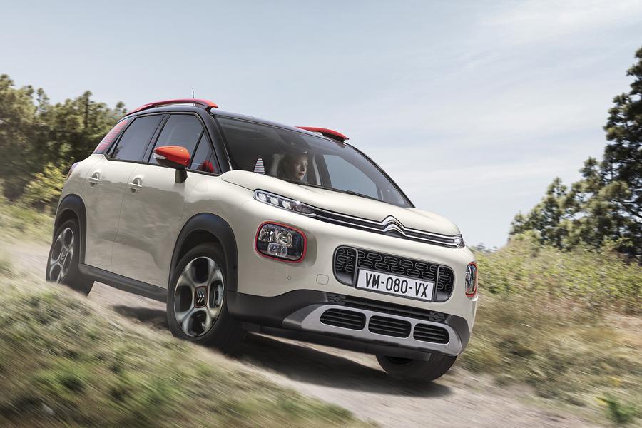 Nuova Citroën C3 Aircross in rampa di lancio