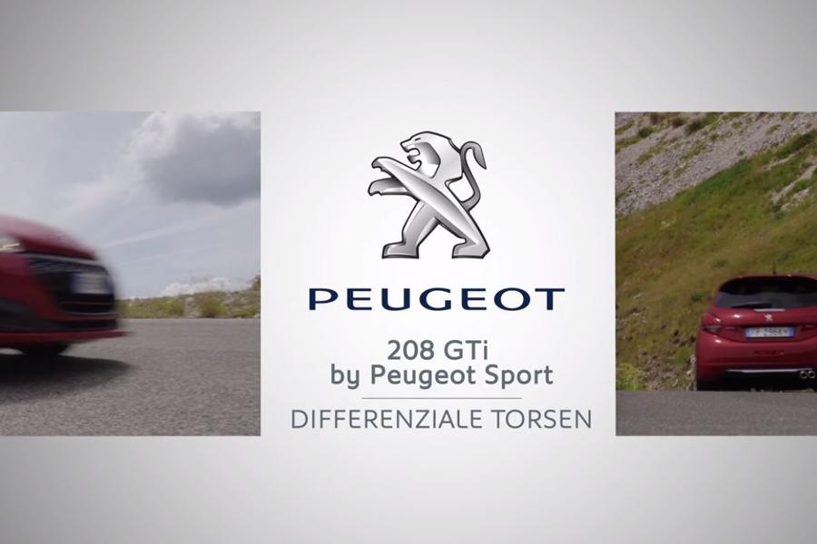 Peugeot 208 GTi Peugeot Sport con il Torsen