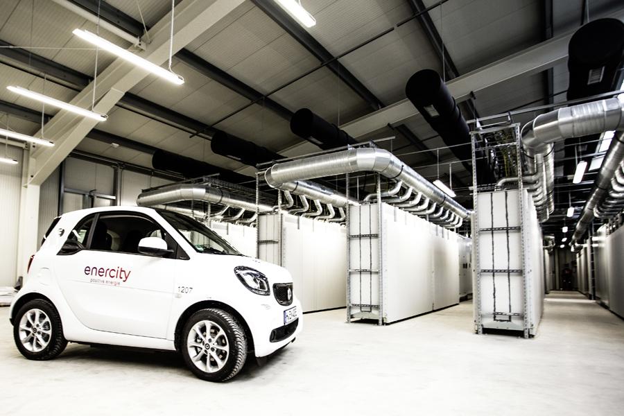 """Daimler ed enercity inaugurano il """"magazzino ricambi vivente"""" per la mobilità elettrica"""