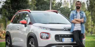 Citroën C3 Aircross e Fabio Volo