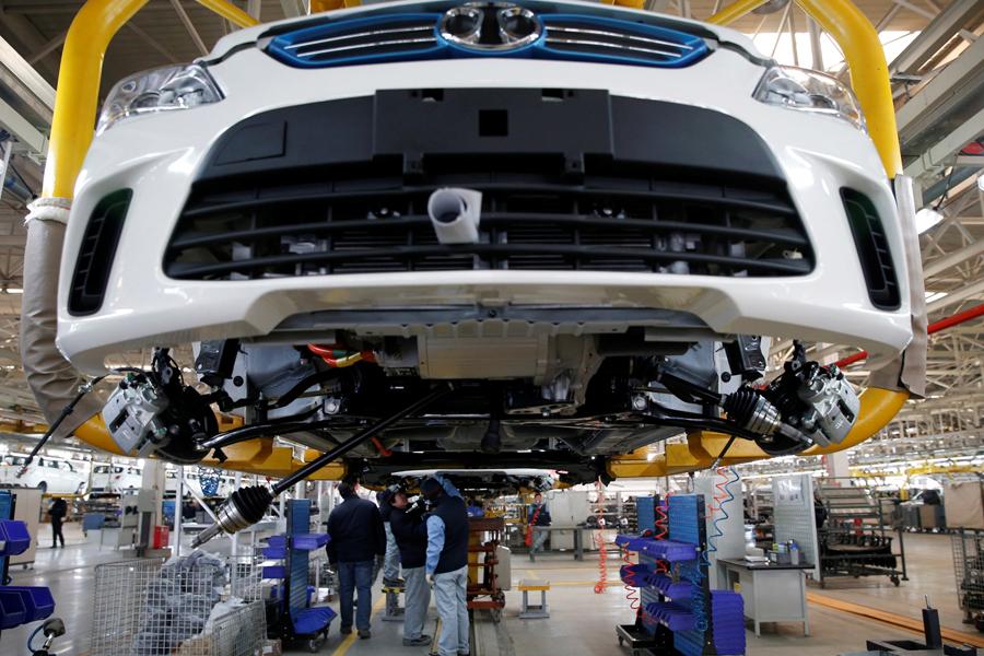 La componentistica automotive è in crescita