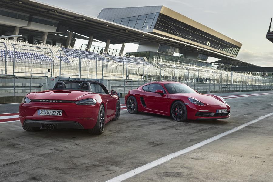 Porsche 718 GTS, i nuovi modelli