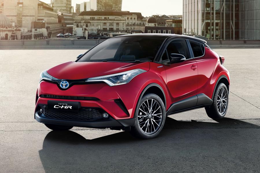 Toyota rinnova l'intera gamma C-HR