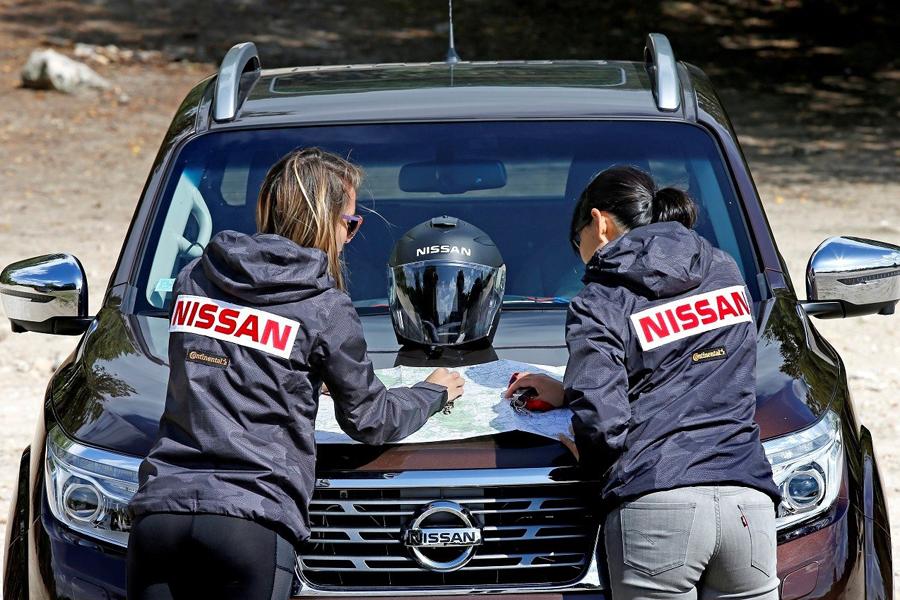 Nissan Navara tutto al femminile