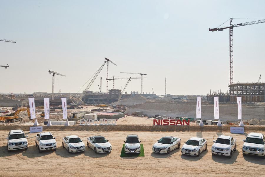Nissan insieme a Expo 2020 Dubai per il futuro della mobilità intelligente