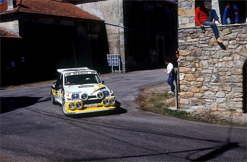 Renault al Rally di Montecarlo Storico