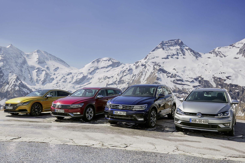 Volkswagen Passat, 35 anni di trazione integrale