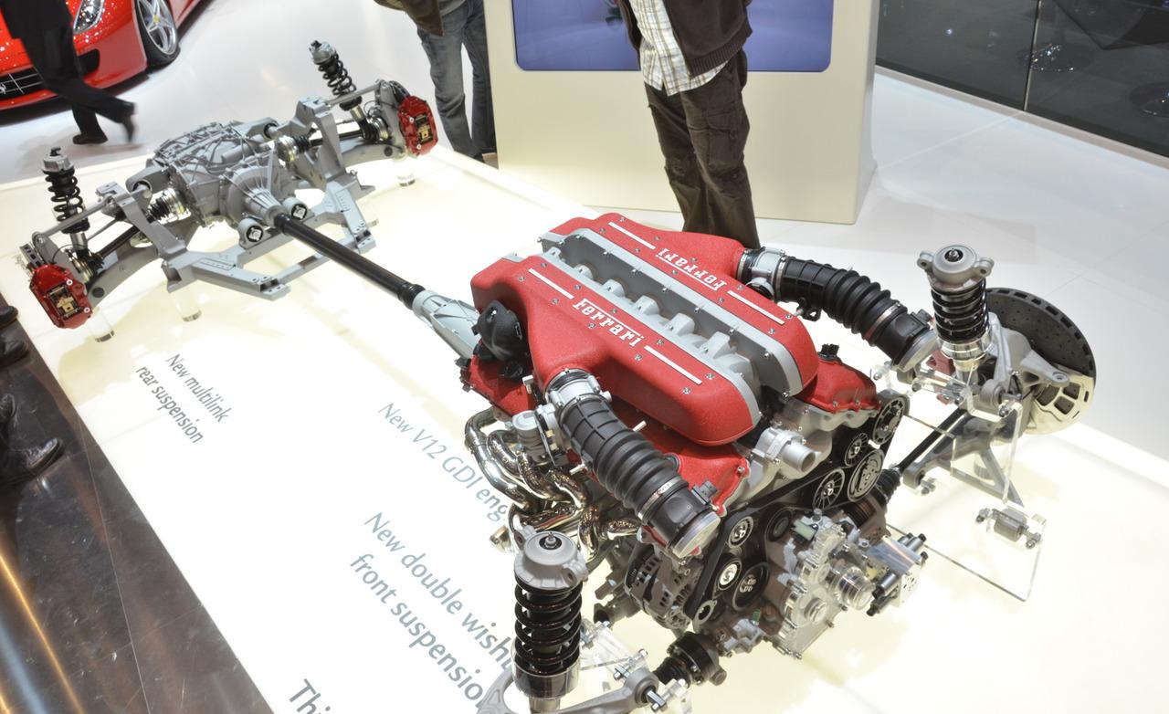 Ferrari 4RM: il sistema integrale di Maranello