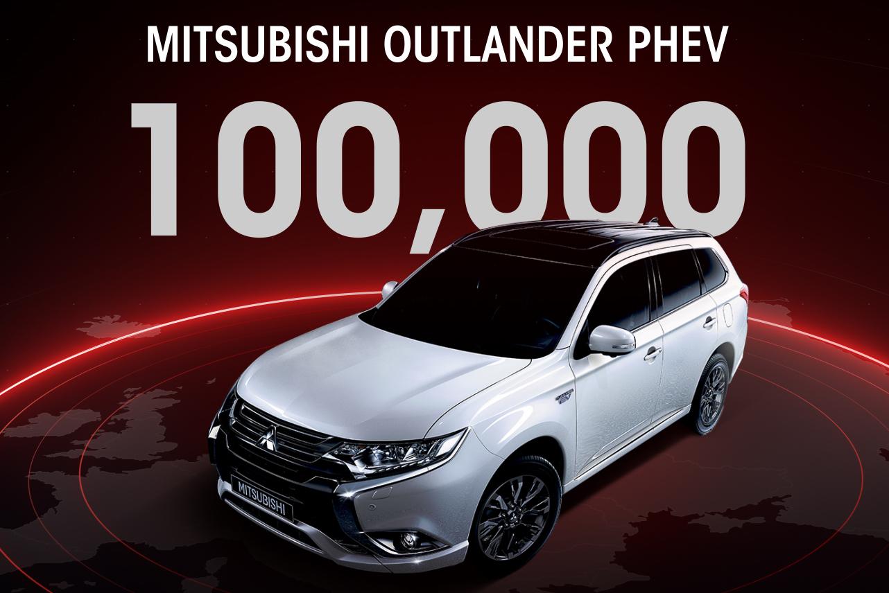 Mitsubishi, 100mila Outlander PHEV vendute  in Europa