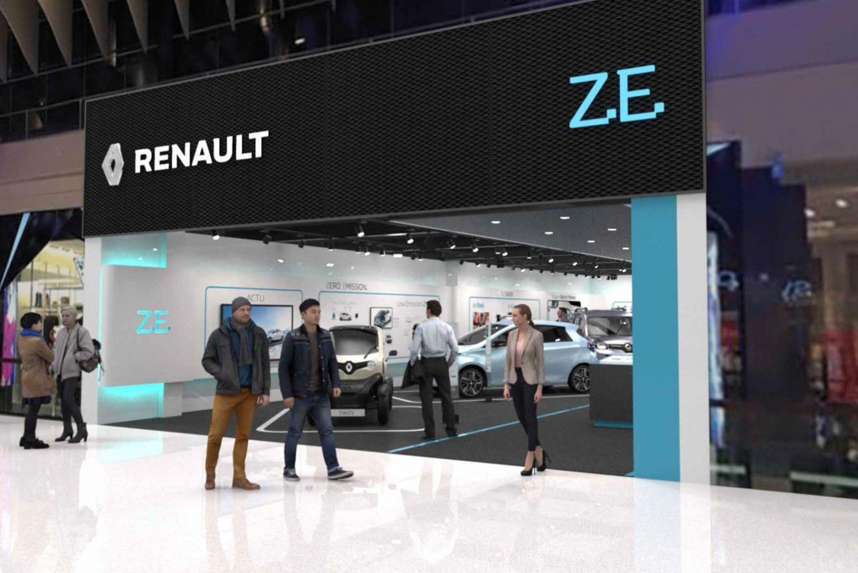 Renault inaugura il primo concept store dedicato al veicolo elettrico in Europa