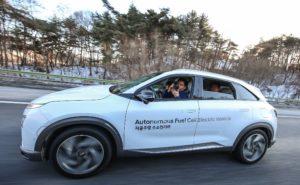 NEXO Autonomous Fuel Cell Electric Vehicle