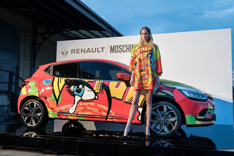 Renault Clio e Moschino: arma di seduzione
