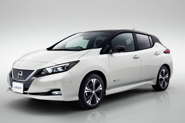 Nuova Nissan LEAF premiata con 5 stelle per la sicurezza