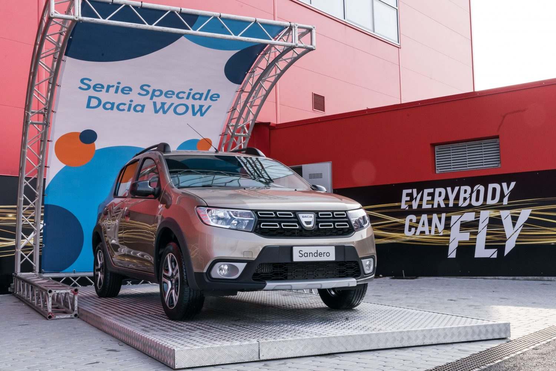 Nuova serie speciale Dacia WOW