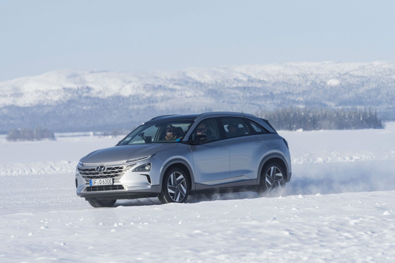 Hyundai Kona Electric e NEXO testate in condizioni estreme in Lapponia