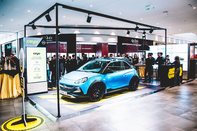 Opel, apre il primo CAYU-Store in Italia