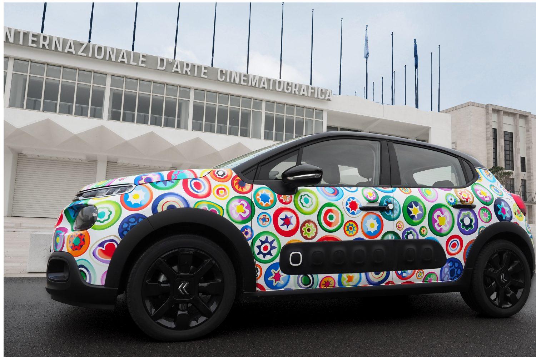 I colori di Venezia nel progetto di design per Citroën C3