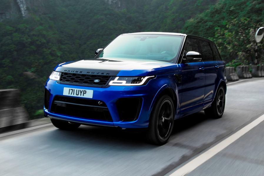 La Range Rover Sport SVR stabilisce un nuovo record sulla Tianmen Road