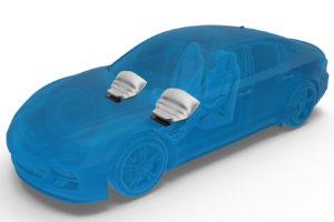 ZF ha sviluppato il modulo airbag per ginocchia più leggero del settore