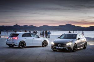 Nuova Mercedes Classe A: premiere classe