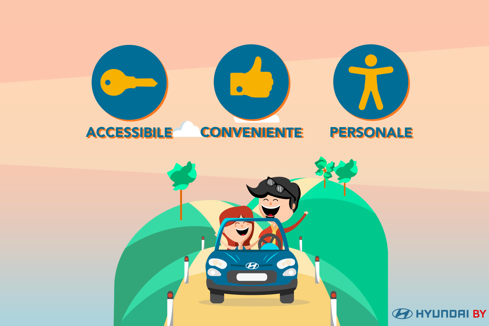 Hyundai By Mobility: la nuova formula per guidare senza pensieri anche per i privati