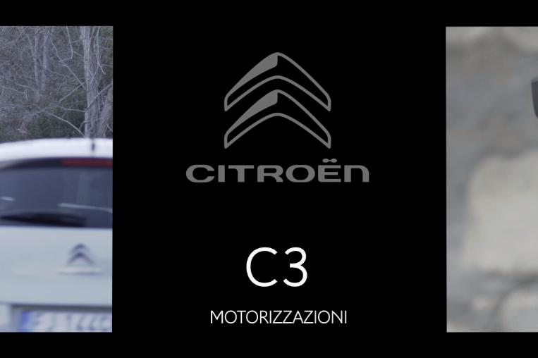Citroën C3, motorizzazioni