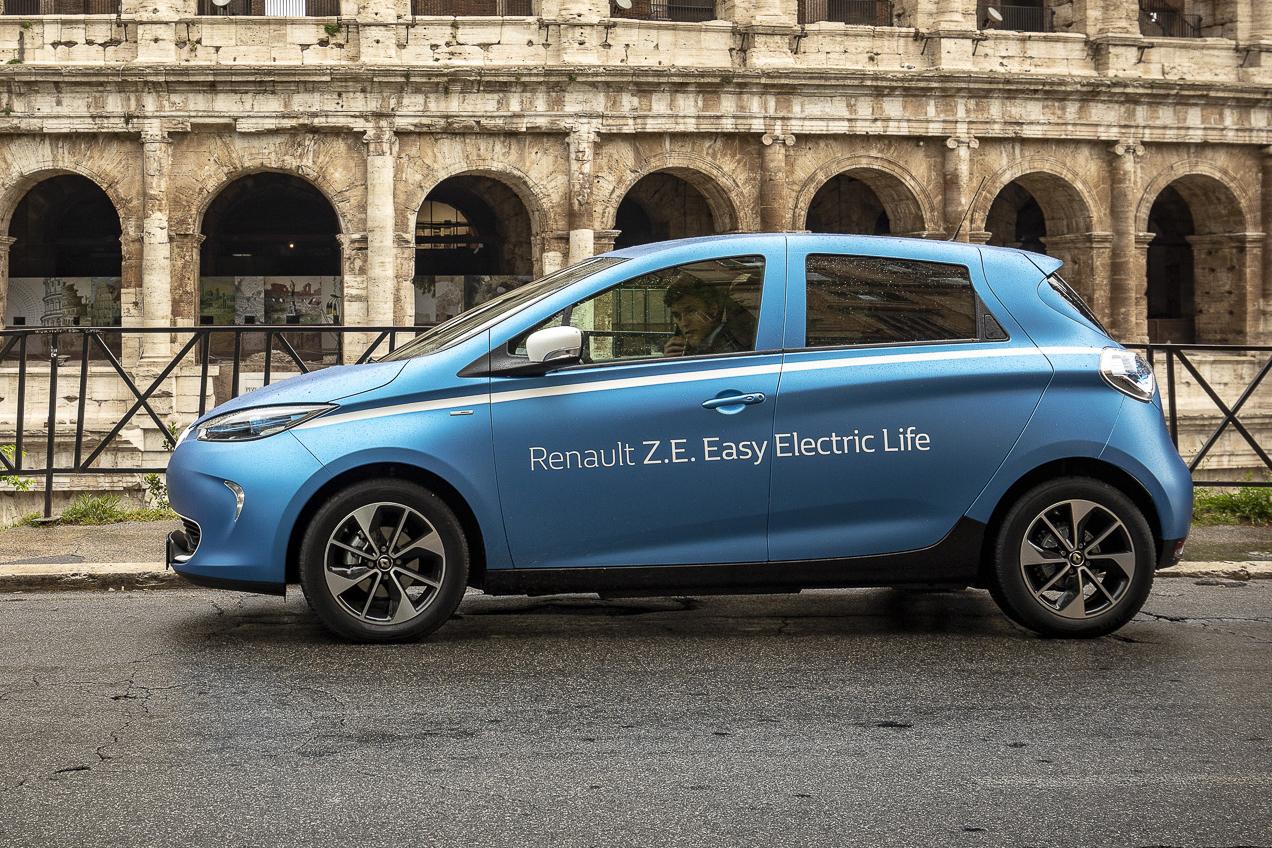 Renault e l'elettrico