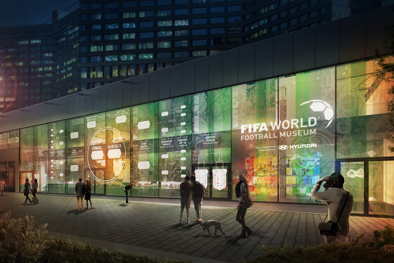 Hyundai porta il FIFA World Football Museum a Mosca per i Mondiali 2018