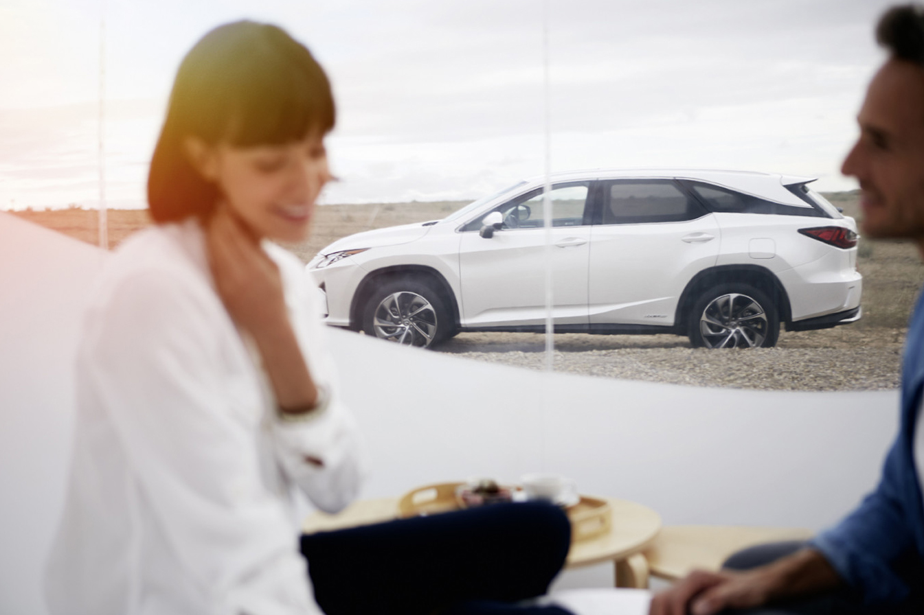 Lexus RX L Hybrid, lusso extralarge