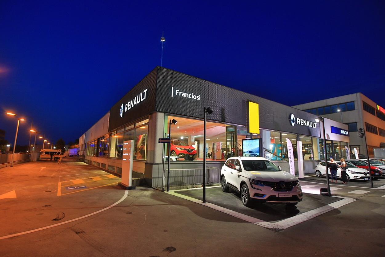 Inaugurato a Modena il nuovo Renault Store Franciosi
