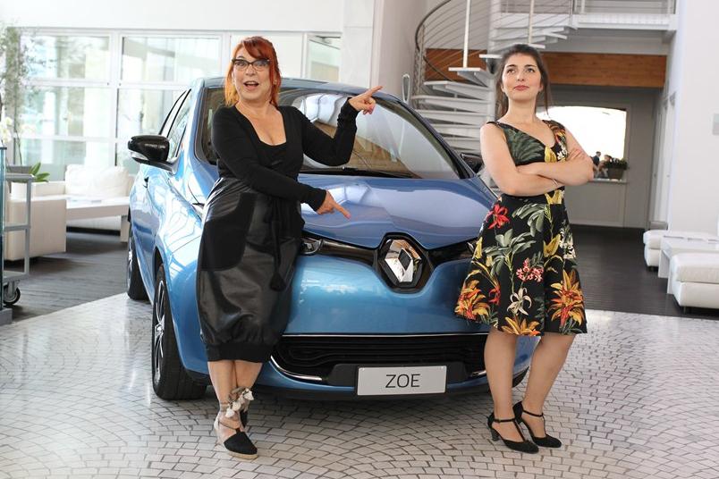 Renault ZOE e Syusy Blady in viaggio per l'Italia