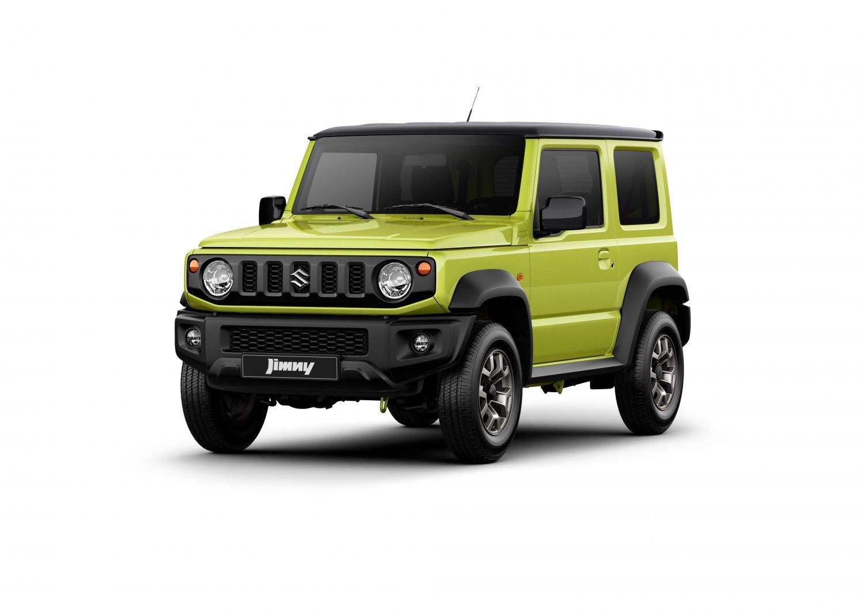 Suzuki Jimny: piccolo, vero fuoristrada