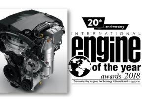 Il motore turbo benzina PureTech di Groupe PSA proclamato per il 4° anno consecutivo motore dell'anno