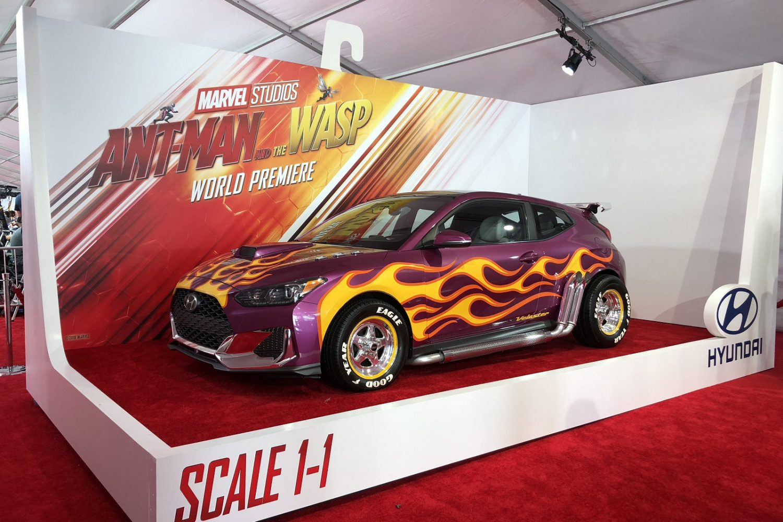 Hyundai Kona, Santa Fe e Veloster debuttano a Hollywood