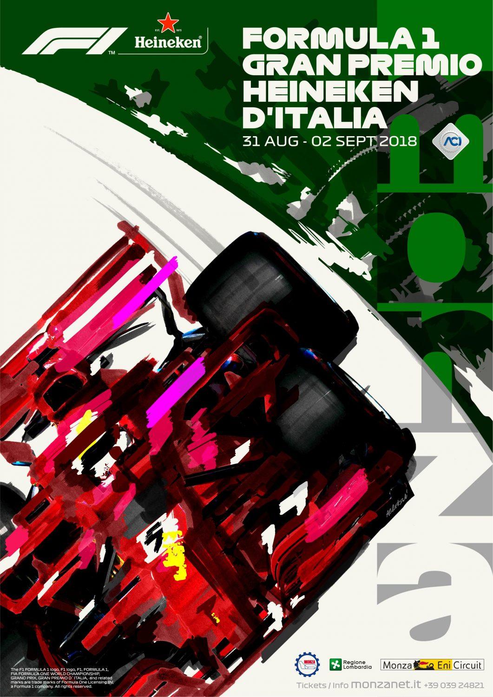Poster GP Monza F1