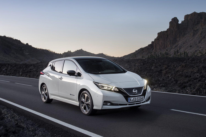 Nissan LEAF è l'auto elettrica più venduta in Europa