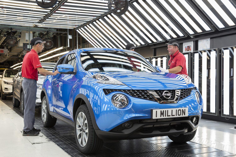Nissan Juke, milionesimo esemplare prodotto